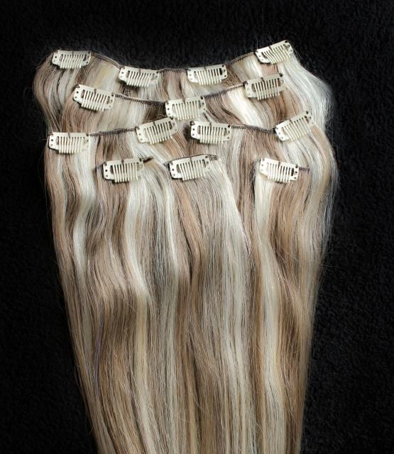 100 Clip In Human Hair Extensions Images Hair Extensions For Short