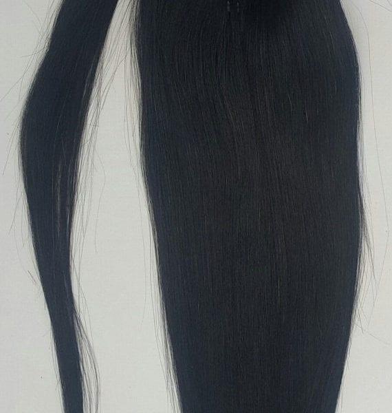 18 100 human hair wrap around ponytail hair extensions 1 jet 18 100 human hair wrap around ponytail hair extensions 1 jet black pmusecretfo Image collections