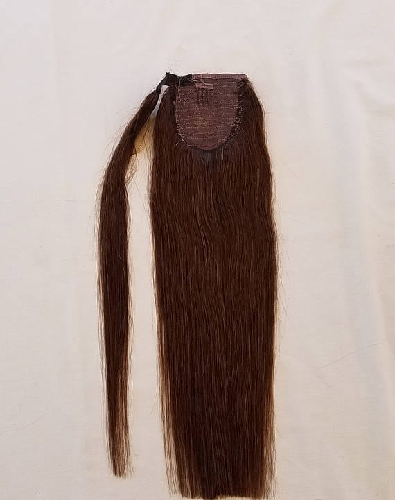 18 100 Human Hair Wrap Around Ponytail Hair Extensions 2