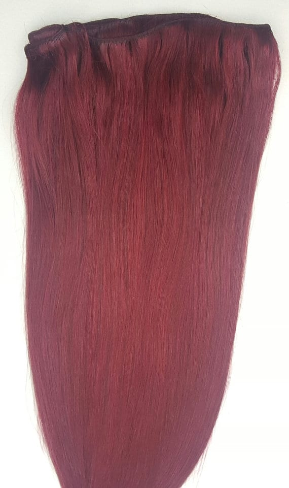 18 20 22 Weft Hair 100 Gramsweft Weaving Without Clips100