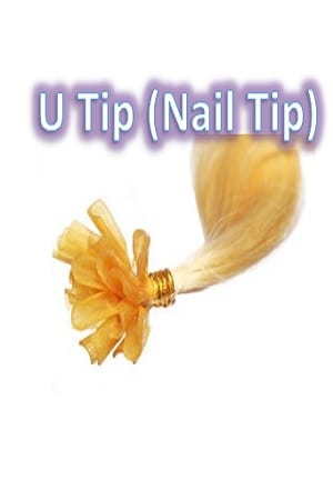 U Tip (Nail Tip) Keratin Hair Extension