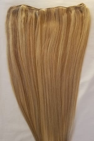 Highlighted weft weaving hair extensions archives hair faux you 20 weft hair 100 gramsweft weaving without clips100 highlighted human hair extensions 18613 dark blonde mixed with platinum blonde pmusecretfo Gallery