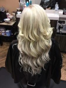 Weft # Light Ash Blonde- After