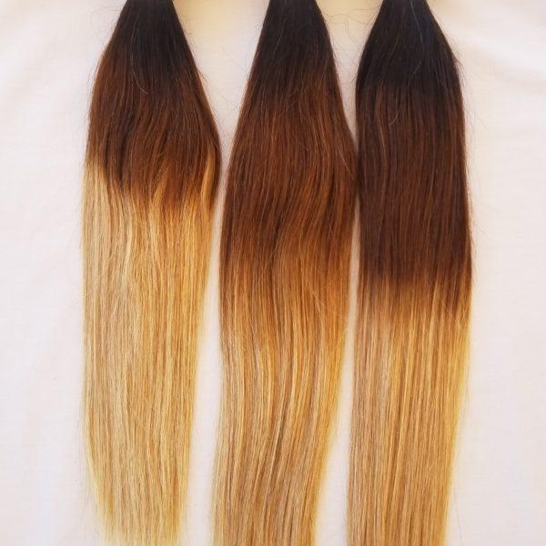 141618 300g Virgin Unprocessed Ombre Weft Hair Weft Weaving