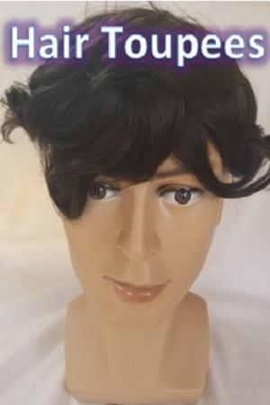 Hair Toupees - Men