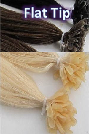 Flat Tip Keratin Hair Extension