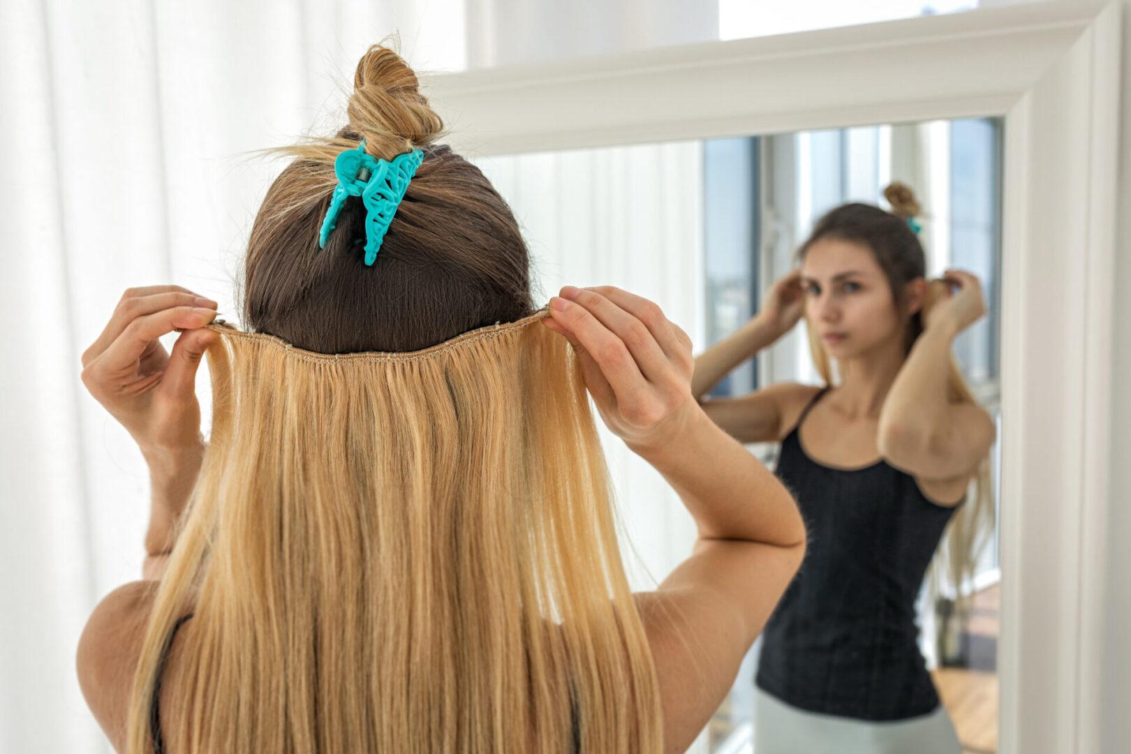 Halo Style Hair